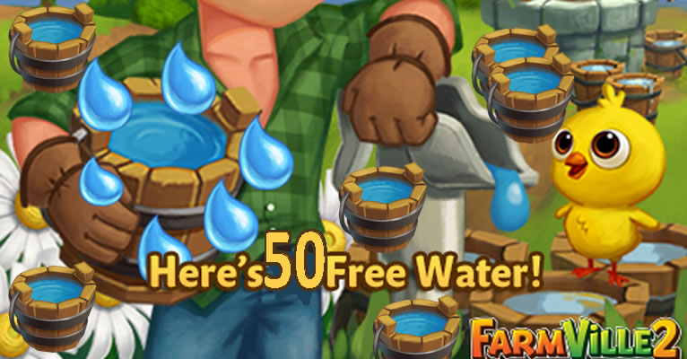 Farmville 2 Free Get 50 Water Aug 12, 2019 - Juegos Social